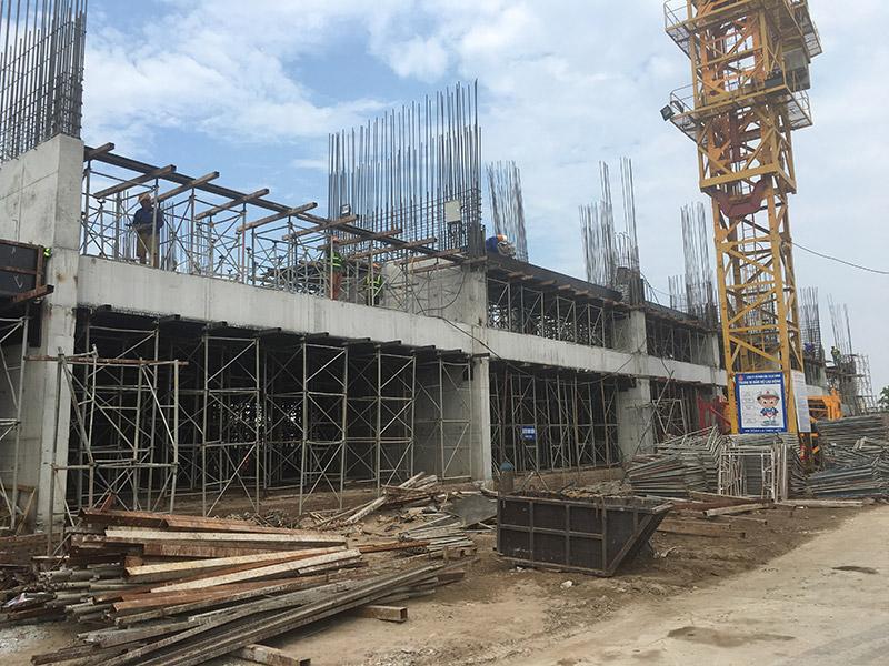 Tiến độ dự án Tây Hồ Riverview cập nhật ngày 06/06/2017