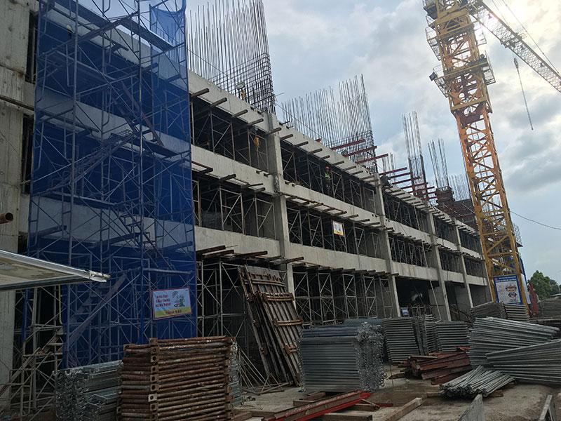 Tiến độ dự án Tây Hồ Riverview cập nhật ngày 27/06/2017