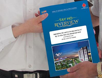 50 khách hàng đầu tiên ký hợp đồng mua bán dự án Tây Hồ Riverview