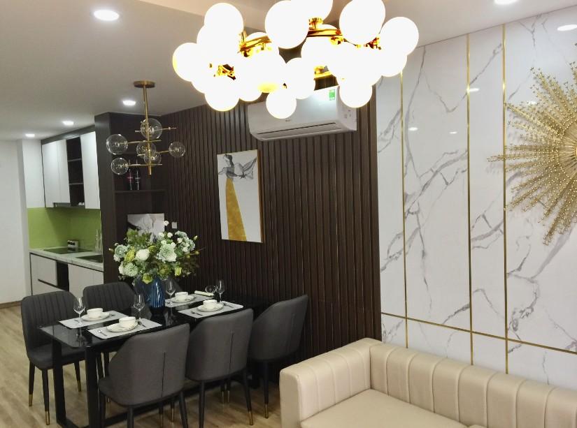 Chiêm ngưỡng căn hộ 3 phòng ngủ tuyệt đẹp bên sông Hồng